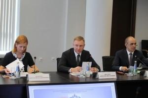 Заседание прошло под руководством министра образования и науки РФ Дмитрия Ливанова