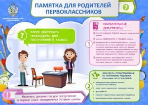Что должен знать и уметь первоклассник при поступлении в школу