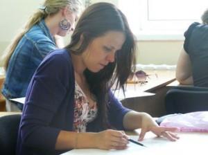 Для поступления на некоторые специальности требуется дополнительный экзамен