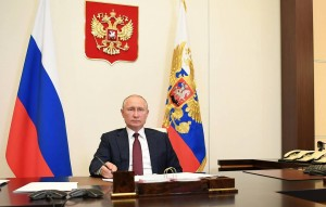 President Putin holds meeting on spring floods and fire hazard in Russian regions
