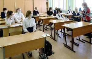 Senior year students return to Yuzhno-Sakhalinsk schools