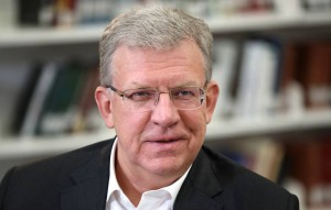 Russian Audit Chamber Chairman Alexei Kudrin gives interview to TASS Russian News Agency