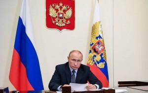President Putin meets with Kostroma Region Governor Sitnikov